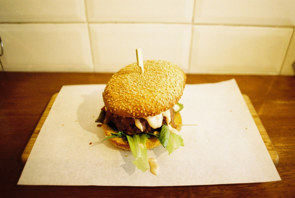 Dutch Beef Burger, delicious. Available at Lombardo's Nieuwe Spiegelstraat 50, 1017 DG Amsterdam, Netherlands. #highlyrecommended