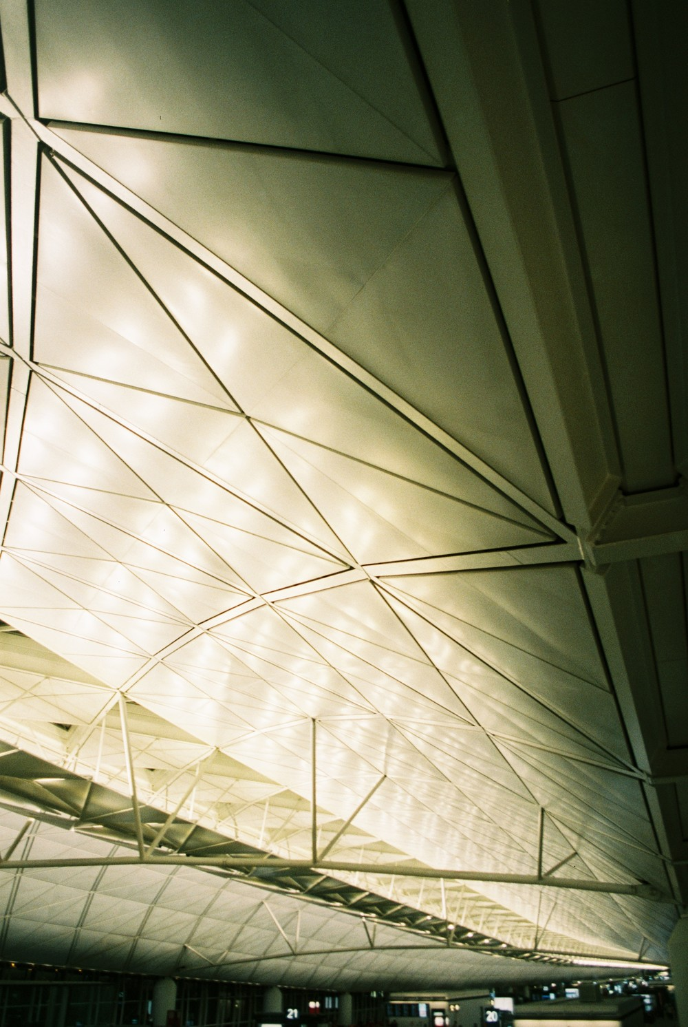 Hong Kong Airport / Structure.