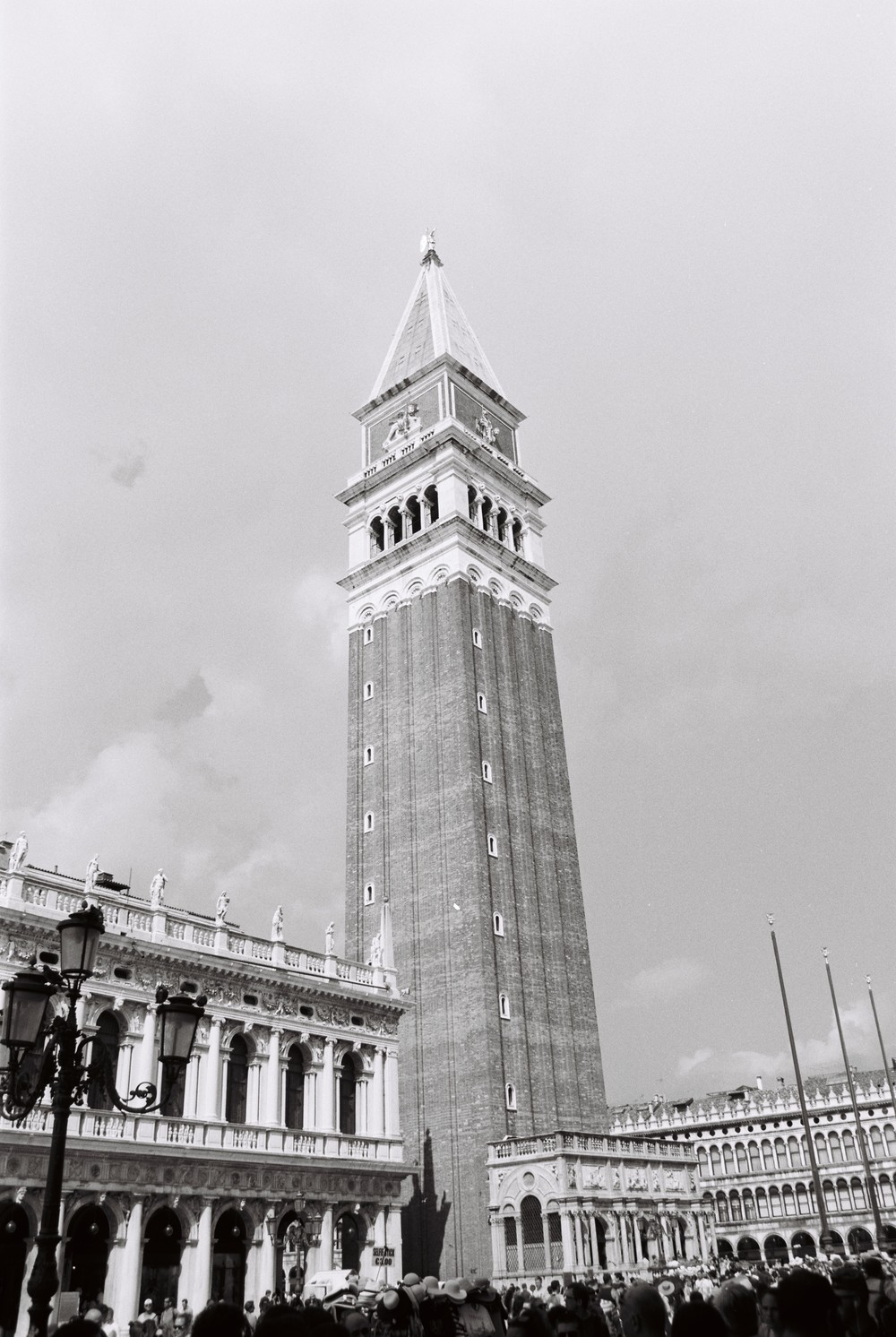 "Ah you know just some famous tower in a famous square. ""San Marco Campanile"""