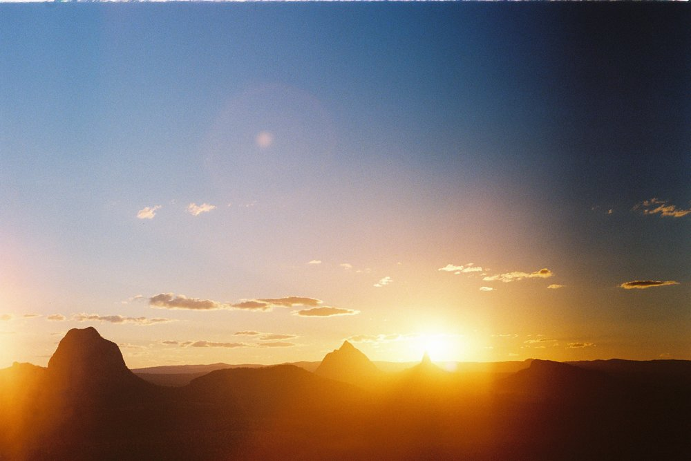 Glasshouse Mountain, Sunshine Coast Qld Australia