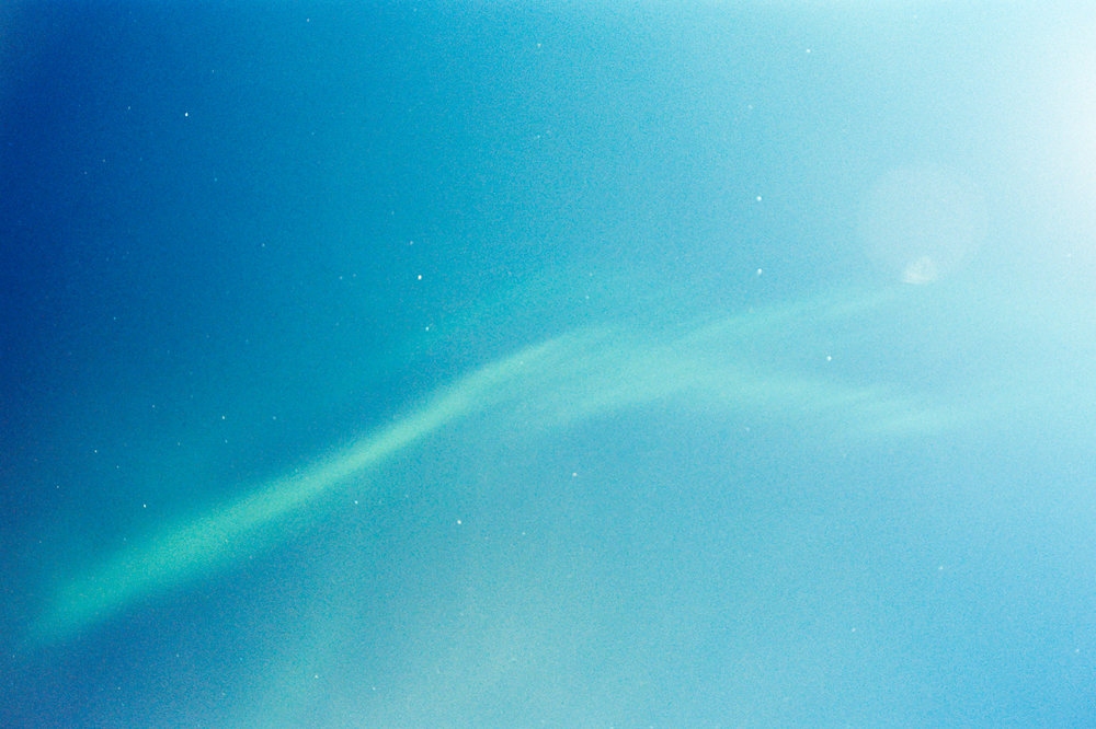 Especially excited when I got my film rolls back. A mix of different exposure times around a guide I dug up on shooting the Northern Lights on film.