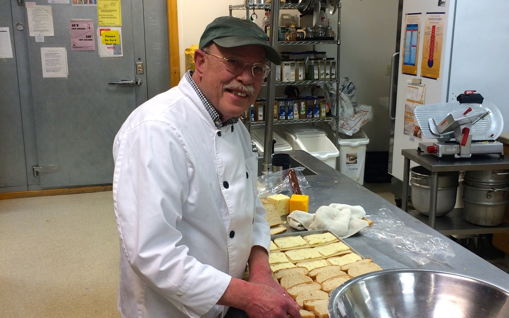 Chuck can cook just about anything — he's been at it for 40+ years.  We're glad to have you Chuck!