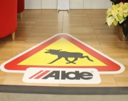 floor graphics alde