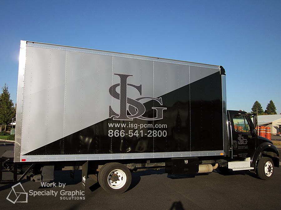 Box truck for ISG