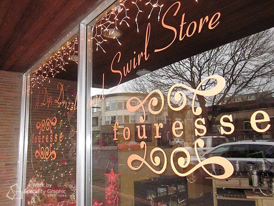 Storefront logo.