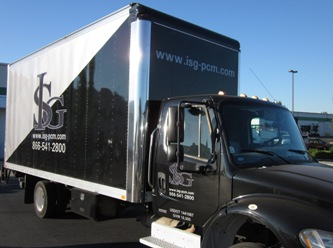 box truck wrap, ISG, vancouver washington
