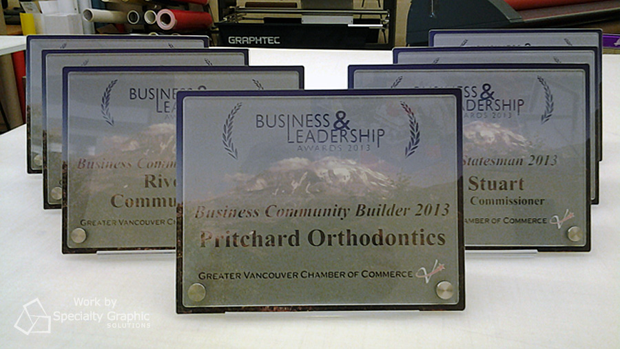 Awards for Greater Vancouver Chamber of Commerce