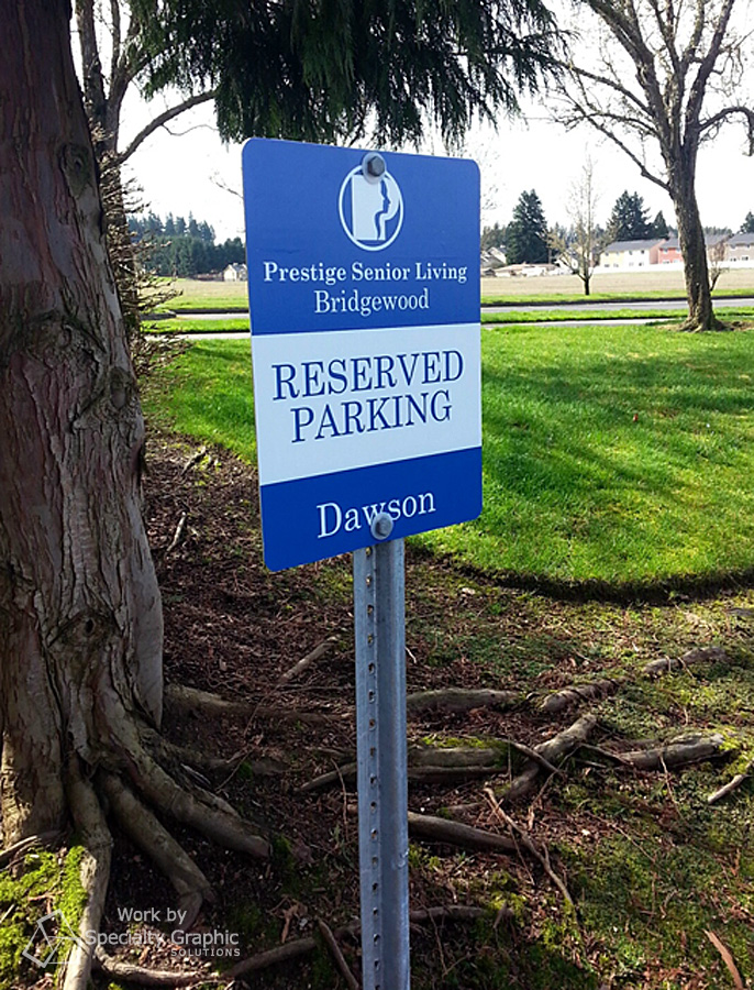custom parking sign prestige care.jpg
