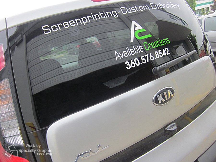 business lettering on vehicle glass available creations.jpg