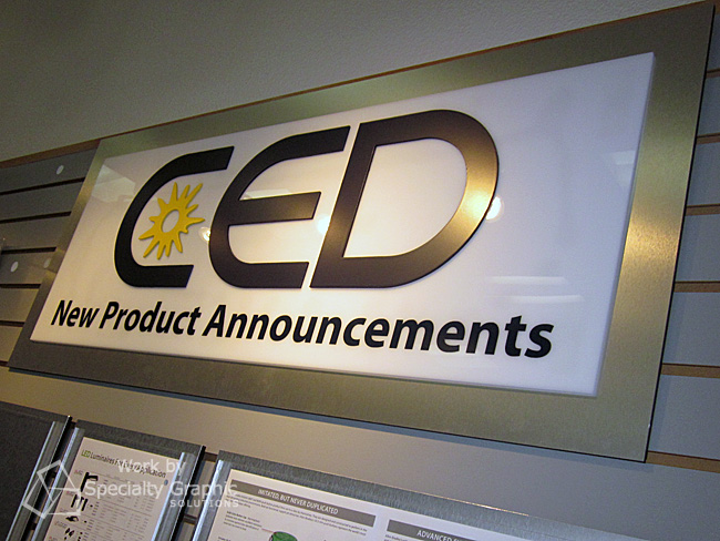 Dimensional Letter Logo - CED.