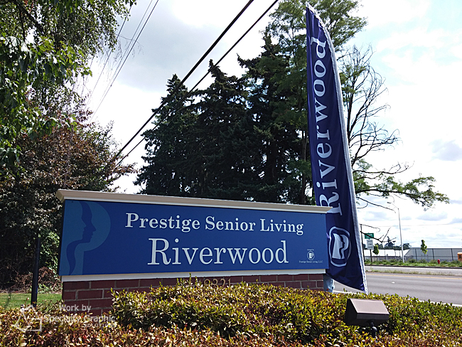 monument sign and flag prestige senior living.jpg