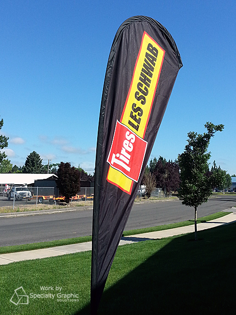 outdoor promotional flag les schwab.jpg