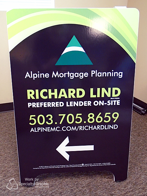 sandwich board sign alpine mortgage.jpg