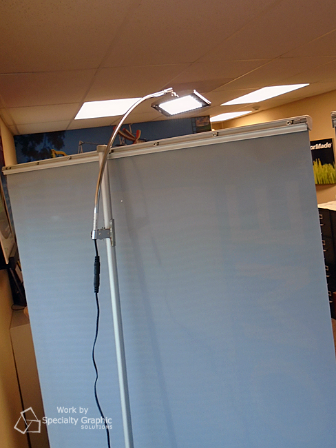 pop up banner with light for trade show vancouver wa.jpg
