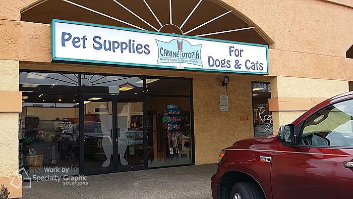 Exterior Signs for Pet Stores in Vancouver