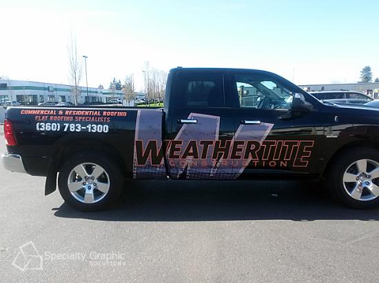 Fleet Vehicle Wraps Vancouver WA