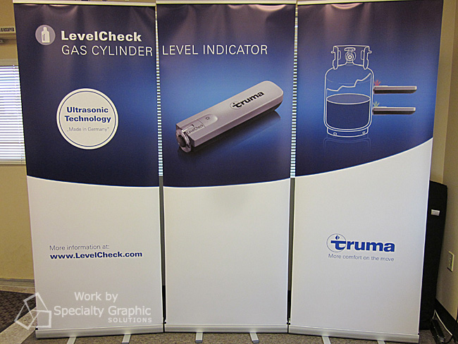 Trade Show retractable banner stands Vancouver WA