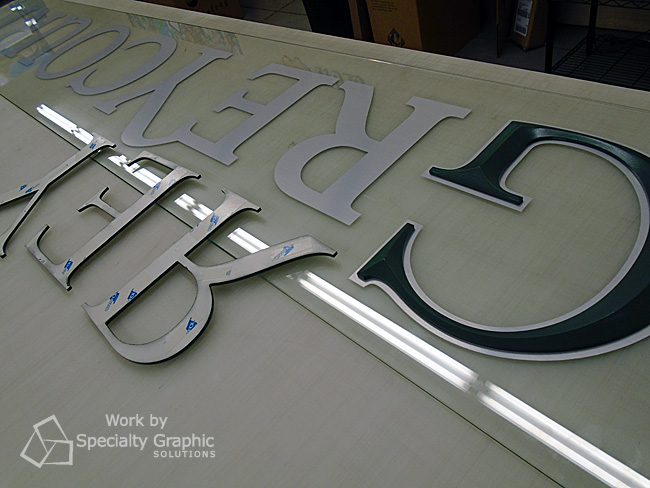 Lobby Sign Fabrication Portland OR