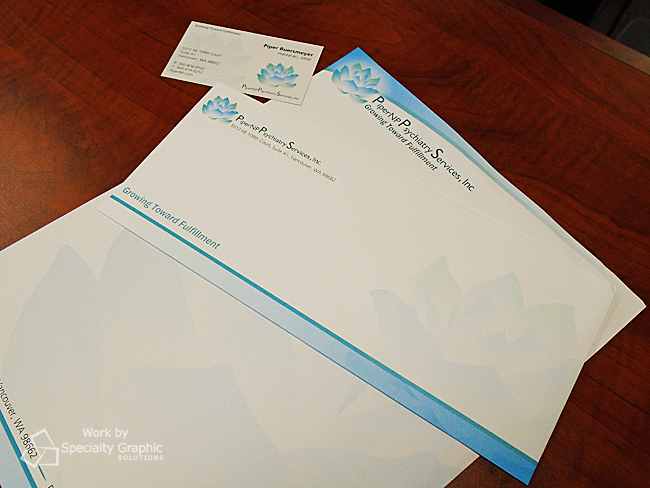 Business Cards and Letterhead Vancouver WA