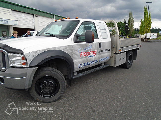 Partial Truck Graphics Vancouver WA