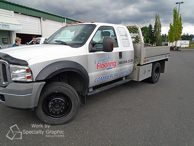 Partial Truck Graphics Vancouver WA