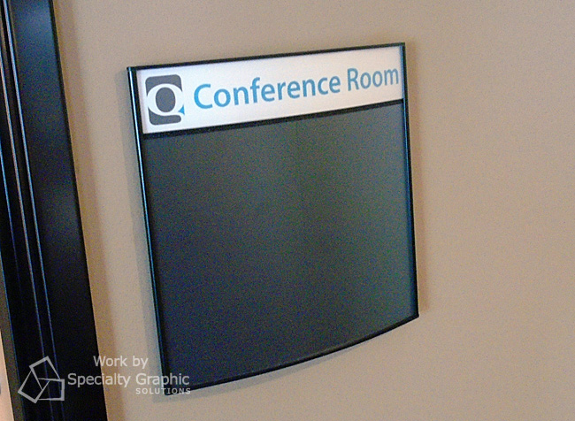 Changeable conference room signs Vancouver WA