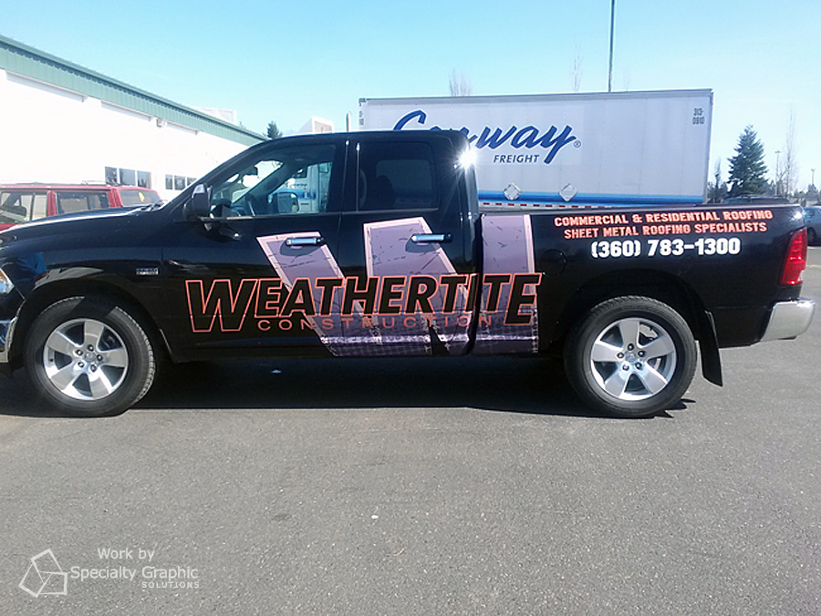 Vancouver Partial Vehicle Wraps