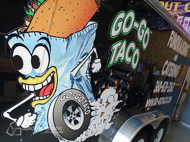 Food Truck Graphics Vancouver WA