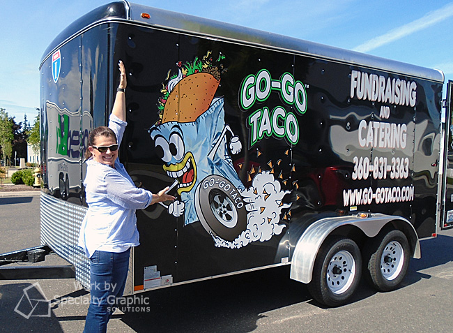 Graphics for Food Trucks in Vancouver WA
