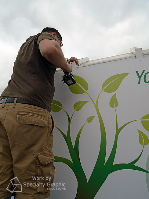 Fleet vehicle graphics installation services Vancouver WA