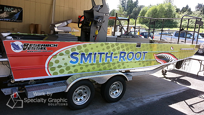 Promotional Boat Graphics Vancouver WA