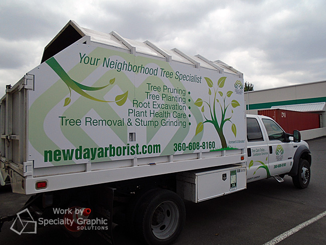 New Truck Graphics for New Day Arborist of Ridgefield WA will Get Noticed!.jpg
