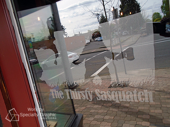 Door & Window Graphics for The Thirsty Sasquatch - new taproom and whiskey bar in Vancouver WA.jpg