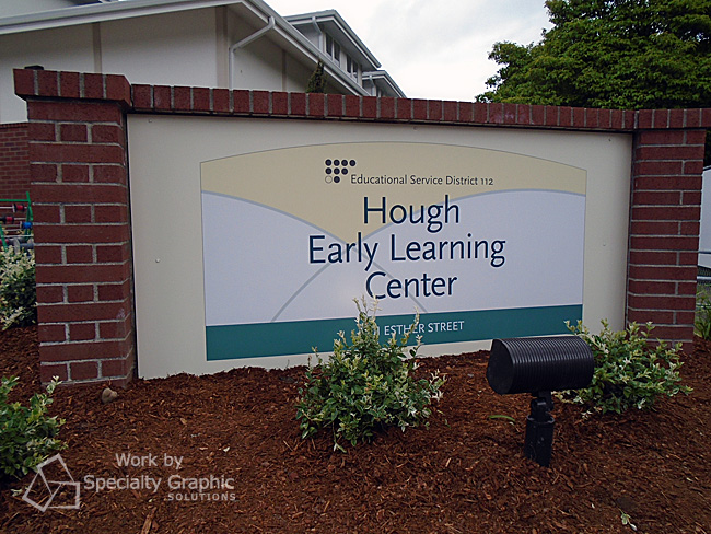 Monument Sign - Hough Early Learning Center Vancouver WA.jpg