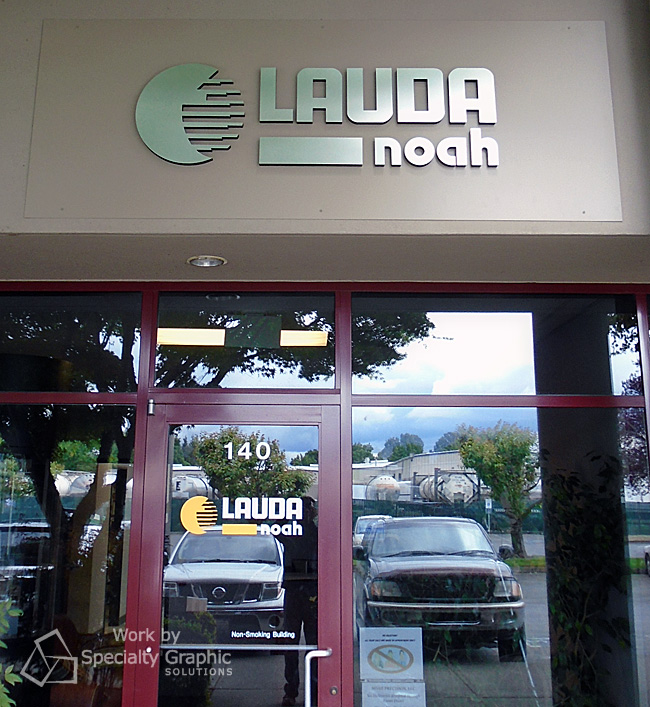 New Entrance Signs for LAUDA Noah in Vancouver WA.jpg