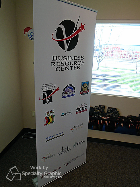 Retractable banner for Business Resource Center at Greater Vancouver Chamber.jpg