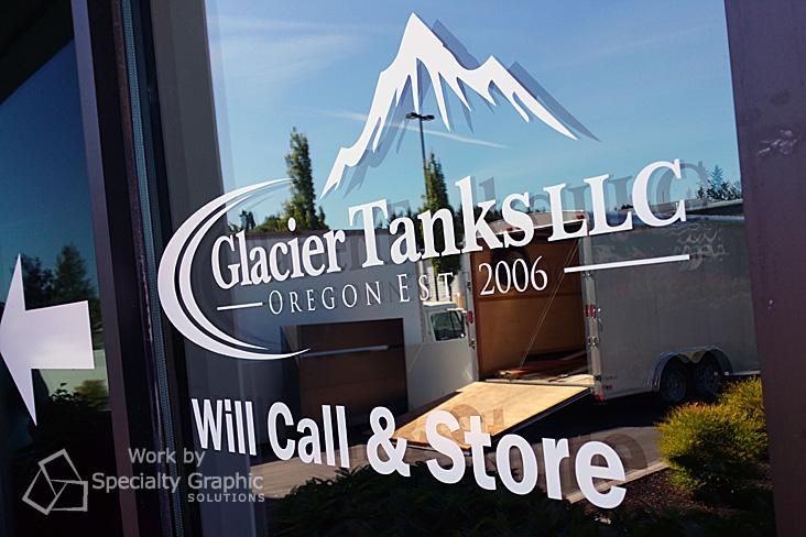 Retail Store Window Graphics Vancouver WA