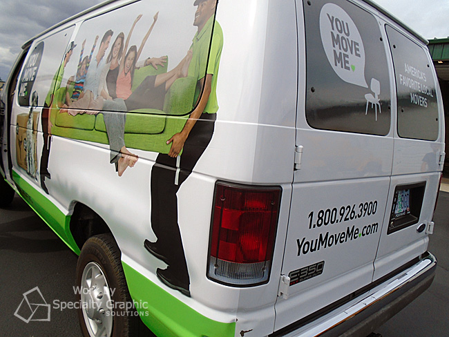 Get noticed with a partial van wrap Vancouver WA