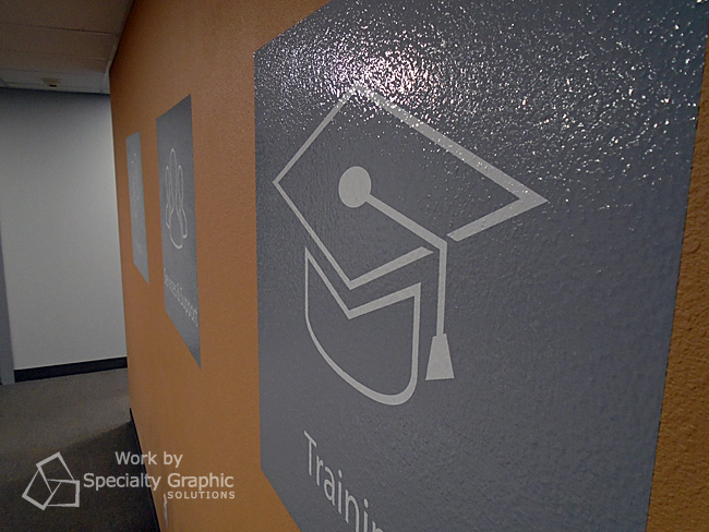 Ask us about vinyl wall graphics for your Vancouver WA office