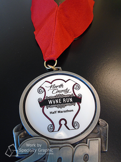 Customized medals for Get Bold Events' North County Wine Run Half Marathon.jpg
