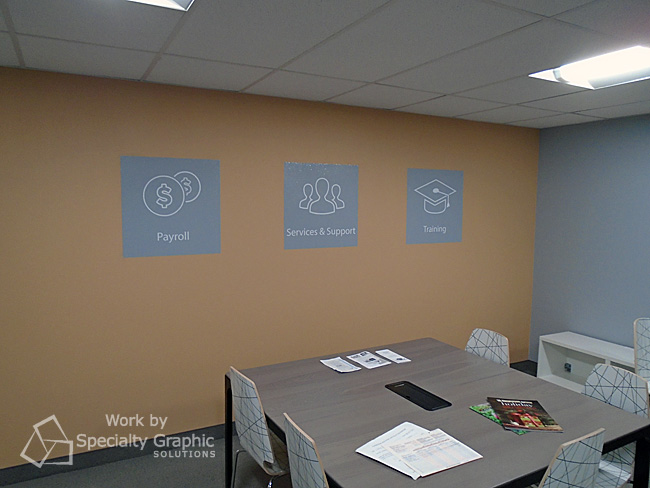 Custom wall graphics for new offices of Evosus, Vancouver WA.jpg