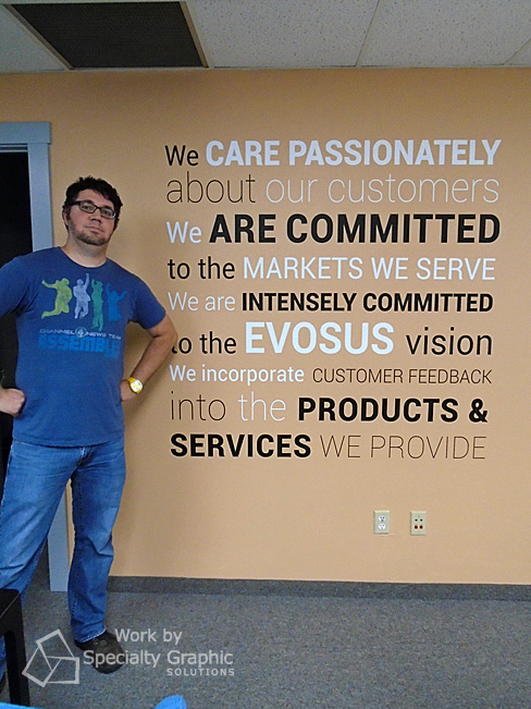 Another mighty sign maker project DONE.  Wall graphics for Evosus, Vancouver WA.jpg