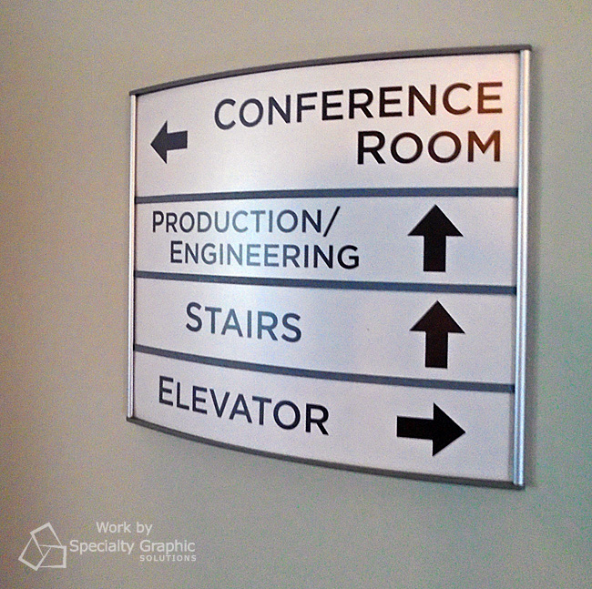 Visitors won't get lost at Smith-Root's new offices in Vancouver WA.jpg