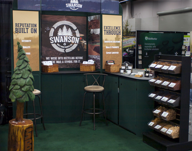 Swanson Bark created great display with new graphic panels created by Specialty Graphic Solutions.jpg