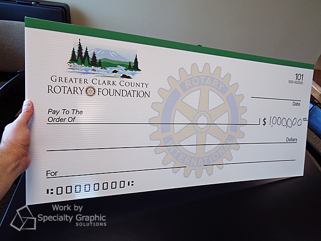 Giant Blank Donation Check for Greater Clark County Rotary Foundation.jpg