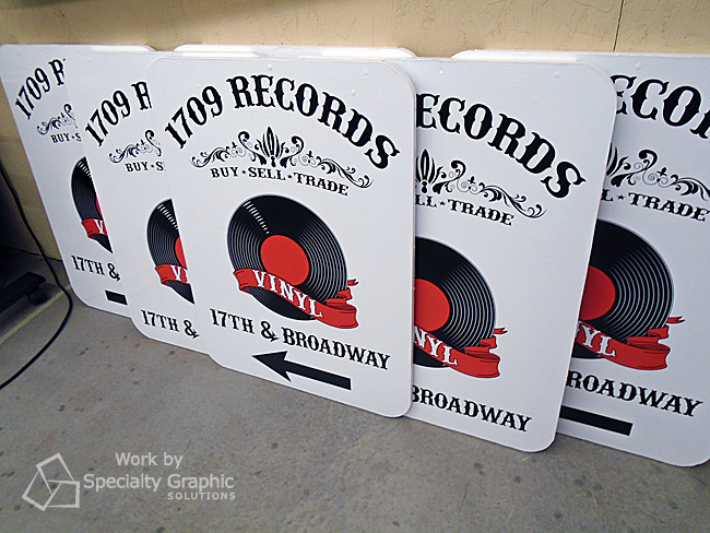Making A Board Signs for 1709 Records in Vancouver WA.jpg