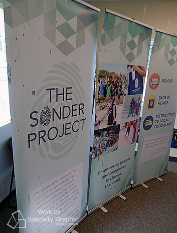 How to assemble retractable banner stands