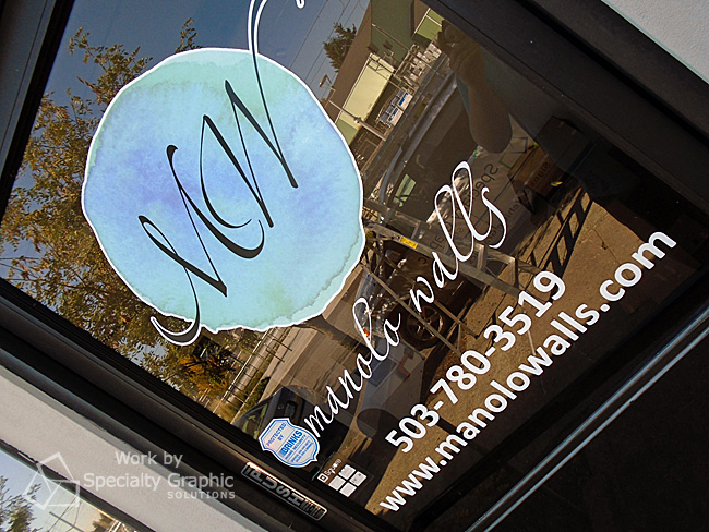 Door and window graphics Portland OR