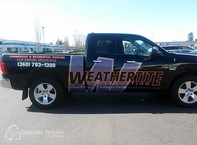 Truck Wraps Vancouver WA