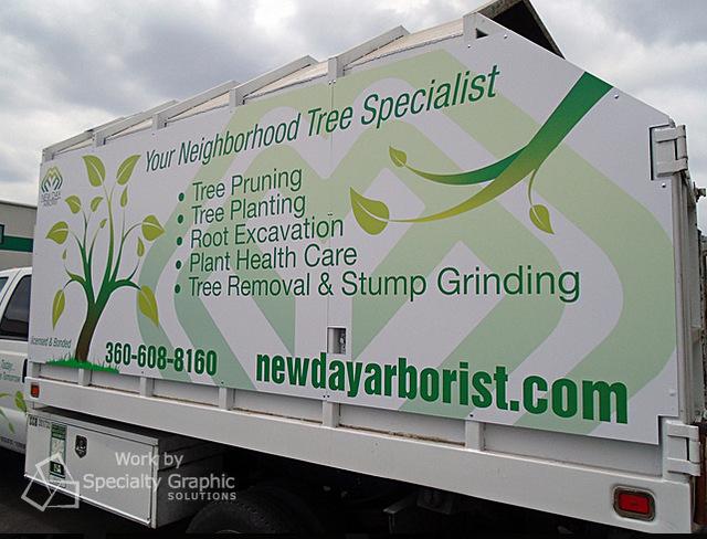 Partial Truck Wraps Vancouver WA